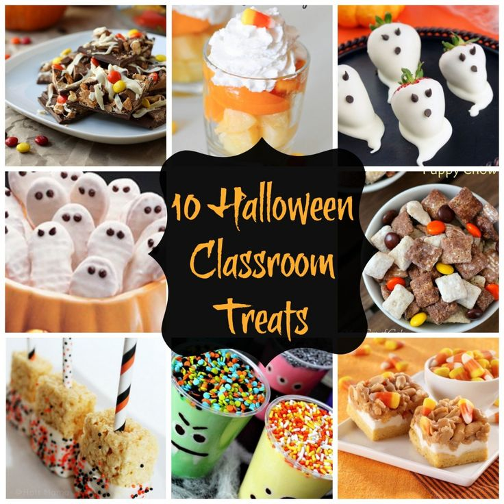10 great halloween classroom treats halloween - Great Halloween Appetizers