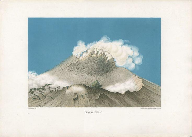 17 Volcanoes: Works by Franz Wilhelm Junghuhn, Armin Linke, Bas Princen, U5 and Wermke/Leinkauf   Princeton University School of Architecture