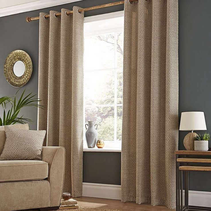 1000 ideas about natural eyelet curtains on pinterest. Black Bedroom Furniture Sets. Home Design Ideas
