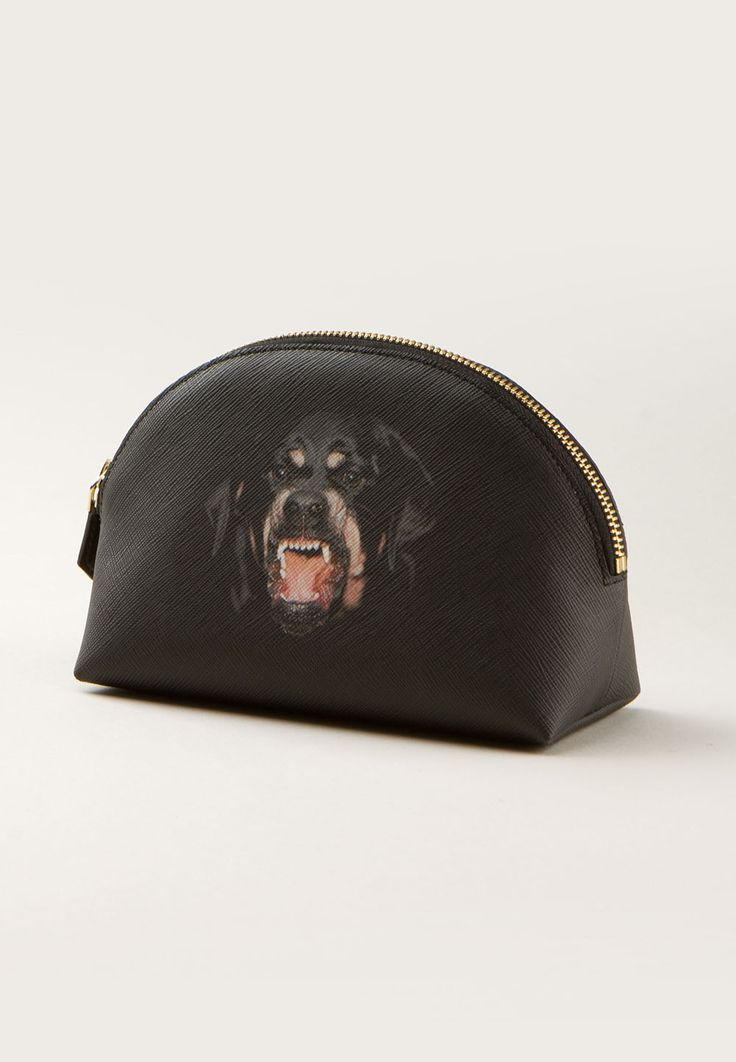 Givenchy Clutch bags :: Givenchy Iconic Multi Rottweiler pouch | Montaigne Market
