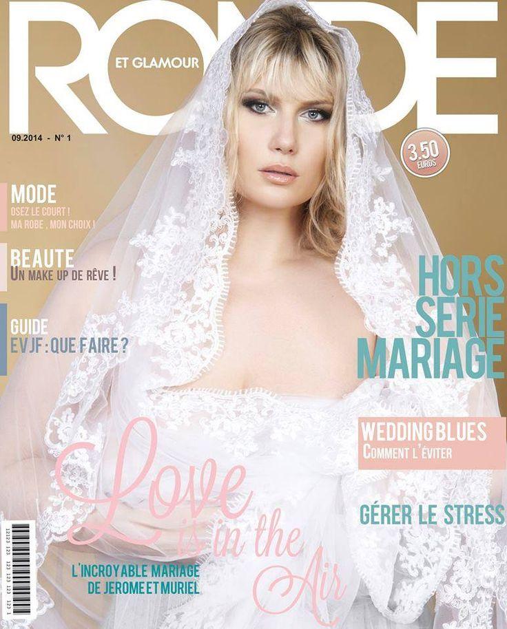 #cover #magazine #ronde #glamour #plussize #véronique #sevère #horsseerie #mariage #wedding #paper