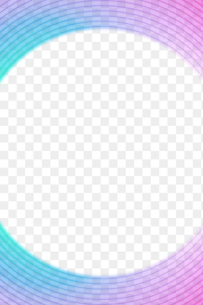 Round Pink And Blue Neon Frame Design Element Free Image By Rawpixel Com Ketchup In 2021 Frame Design Design Element Free Illustrations