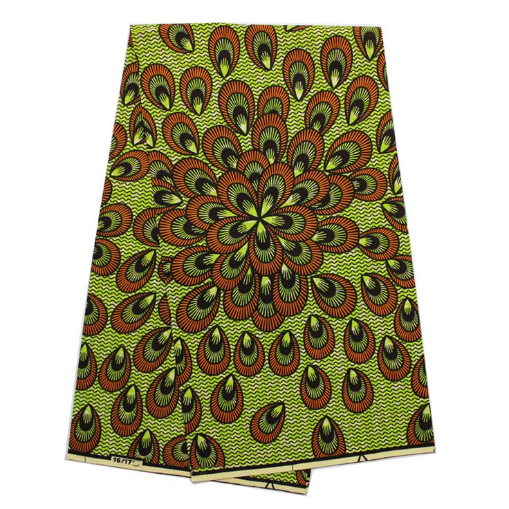 Find More Fabric Information about YBGHA 167  Latest African Fabrics,peacock design veritable wax hollandais real wax African printed fabric 6 yards,High Quality african print fabric,China designer print fabric Suppliers, Cheap printed fabric from Freer on Aliexpress.com