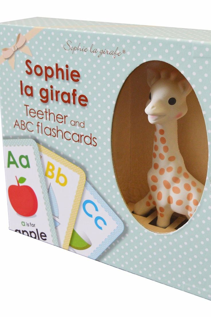 This set comes in a giftbox and includes: – Sophie la giraffe, the most beloved teether for over 53 years – 26 ABC flashcards to discover the alphabet with Sophie la giraffe. Each letter is illustrated with a unique design to familiarize baby with the alphabet.   Sophie Teether Flashcards by Calisson Inc. Toys - Unisex Oregon