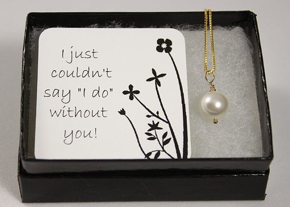 """I just couldn't say """"I do"""" without you! is a perfect way to ask your friends or family to be in your wedding!"""