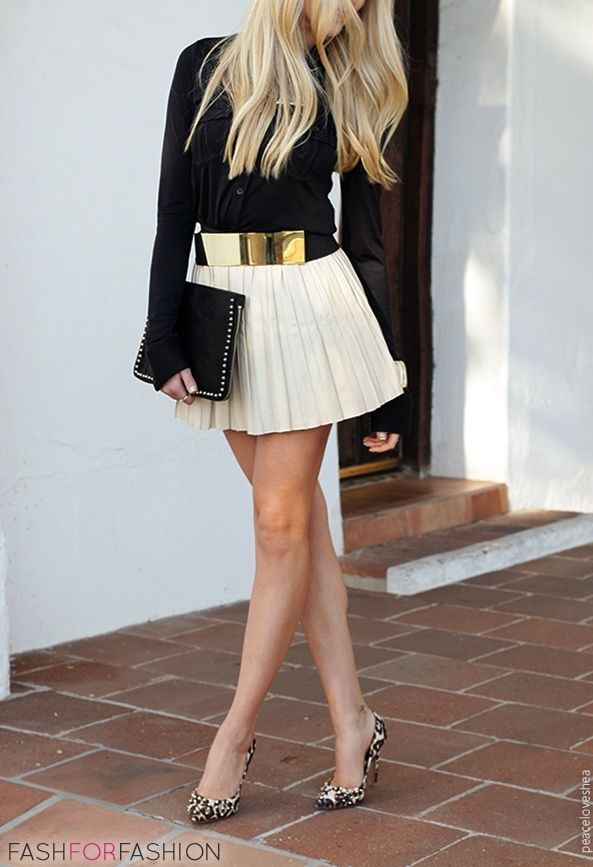 Trend Alert: The gold metal Belt – Fashion Style Magazine - Page 7