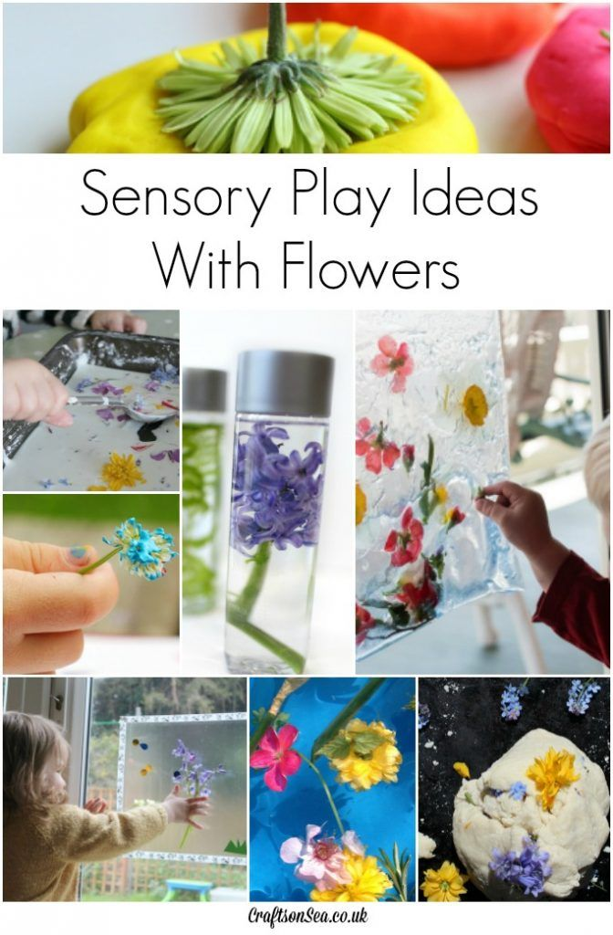 Gorgeous sensory play ideas with flowers, perfect for hands on fun! Featured by Special Learning House. www.speciallearninghouse.com.