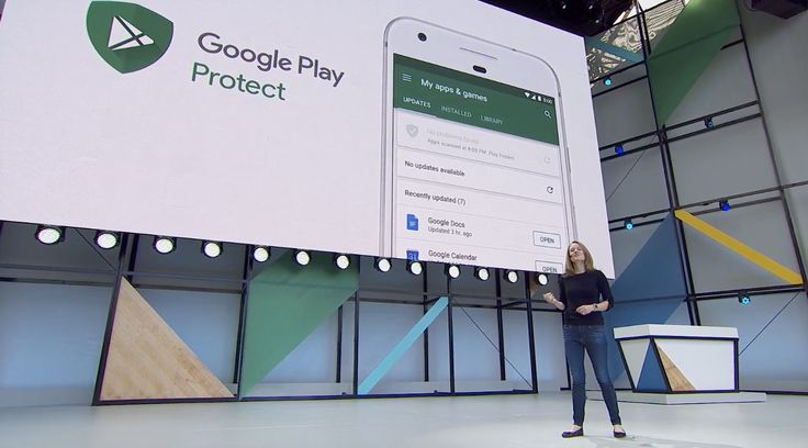 Google Play project will make sure that you don't install any sketchy apps