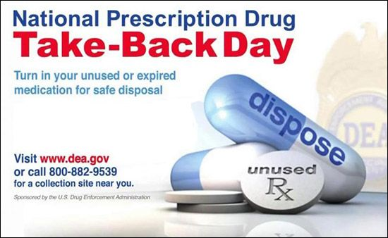 State Police Partners with DEA in National Prescription Drug Take-Back Day on October 28