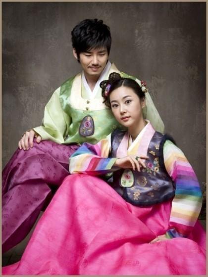 On Korean HanbokKorean DressKorean StyleWedding GiftsKorean