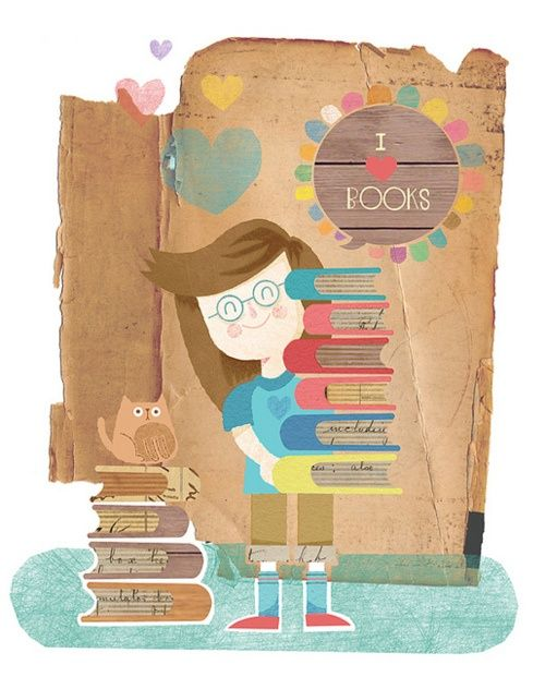 I love books!!