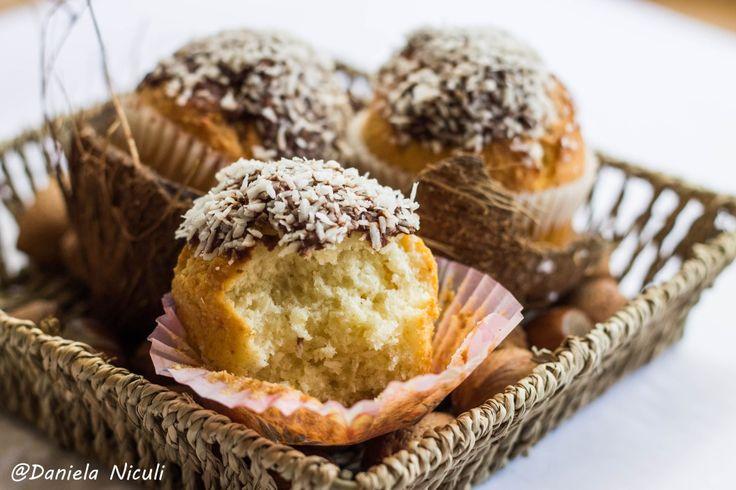 Briose cu cocos