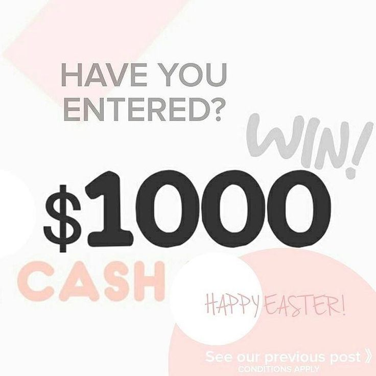 HAVE YOU?? Check back a few posts to see how you could score $1000 PayPal cash! It's so easy!!!