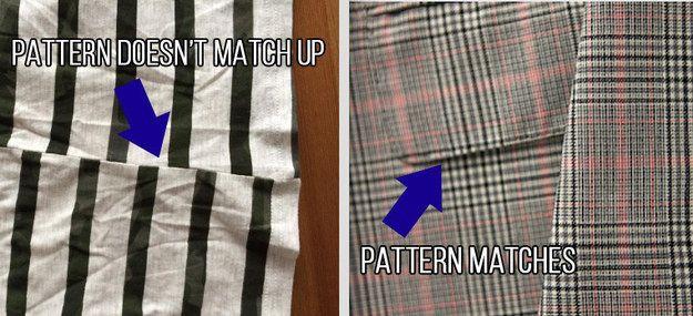 14 truques para saber se a roupa é boa e durável ou apenas uma peça barata