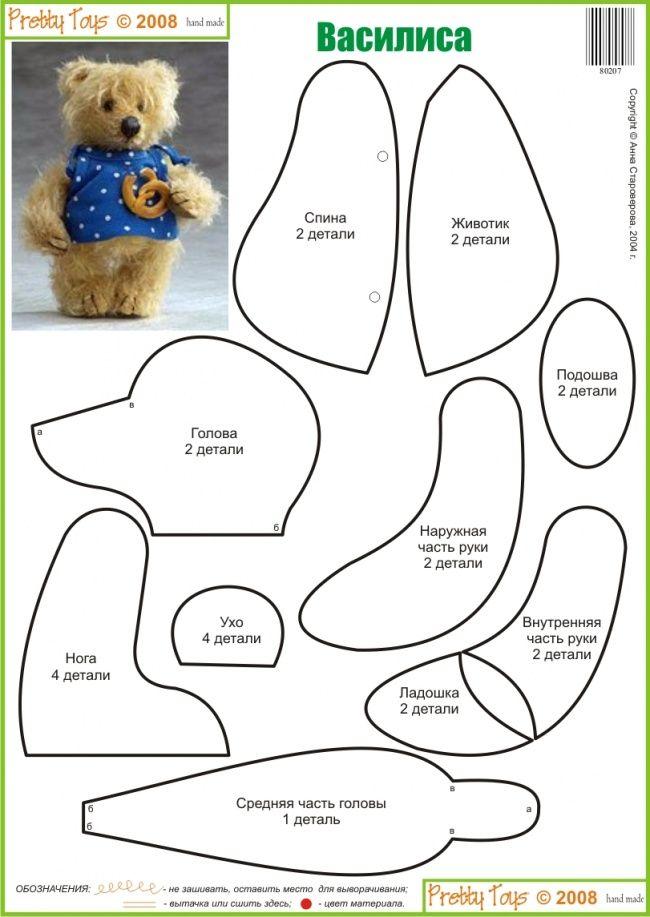 Чудо-игрушка по замечательной авторской выкройке. Для игрушки подойдёт  мохер с коротким ворсом. Ладошки и нос выбриты. Нос вышит. Руки и ноги закреплены с помощью шарнира. Платьице сшейте из мягкой яркой ткани.