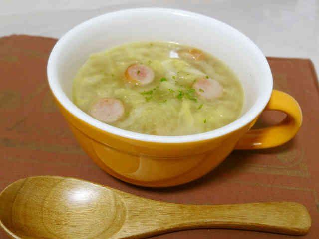 ほっこり♡優しいキャベツの千切りスープの画像