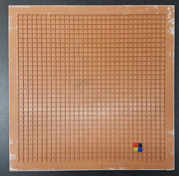 Mosaic Tile Mounting Grid 8mm Fits 90 Pieces With Images