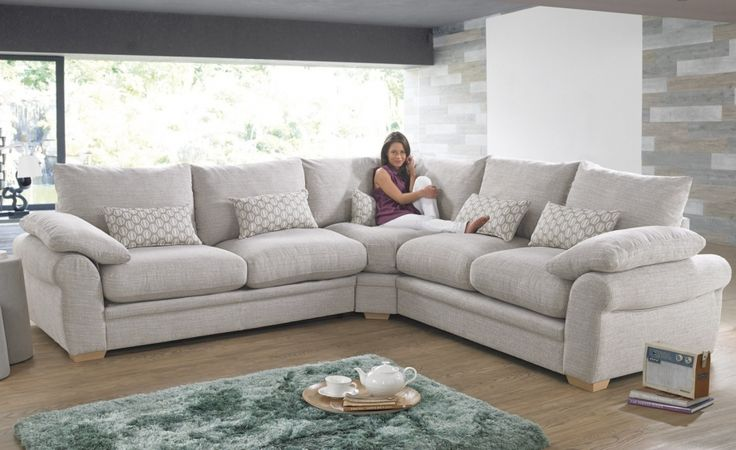 Corner Sofas and Corner Sofa Beds, Fabric & Leather Corner Groups - CSL Sofas £1239