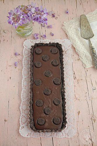 Tarta chocolate galletas oreo www.cocinandoentreolivos.com (11)