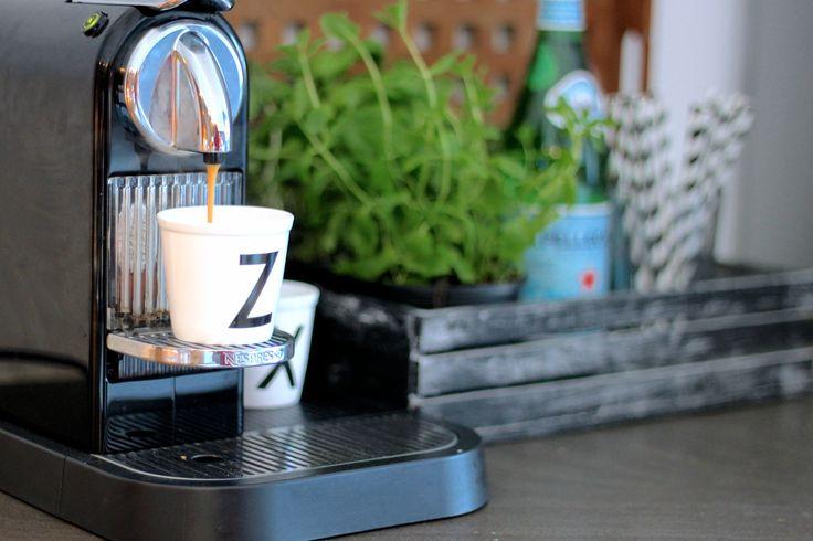 #Nespresso love! #coffee #herbs #kitchen