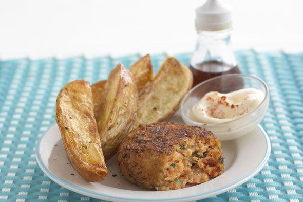 Annabel Karmel's Quick & Easy Cod and Salmon Fishcakes