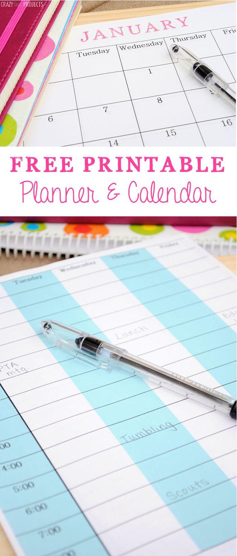 Calendar Planner Ideas : Best images about organization templates on pinterest