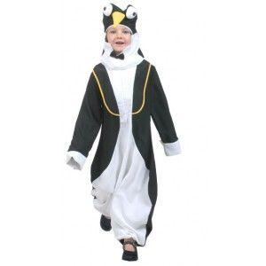 Déguisement pingouin enfant deluxe, carnaval, fêtes.