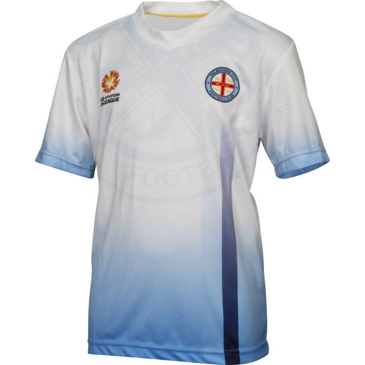 Melbourne City FC 2014/15 Kids Team T-Shirt - Fangear.com