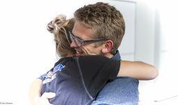the embracing Hug