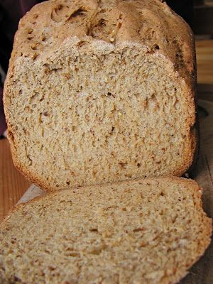 cook.eat.think.: sprouted grain bread.