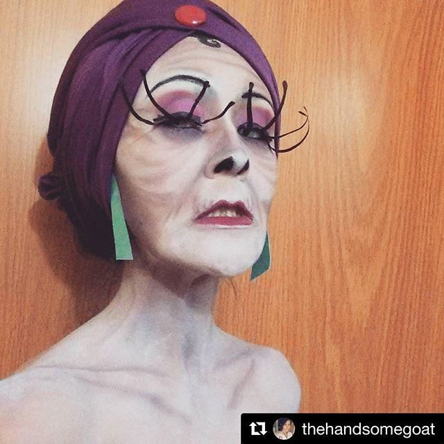 Yas Queen! Yzma cosplay by @thehandsomegoat #cosplaymakeup #wcw ...scary