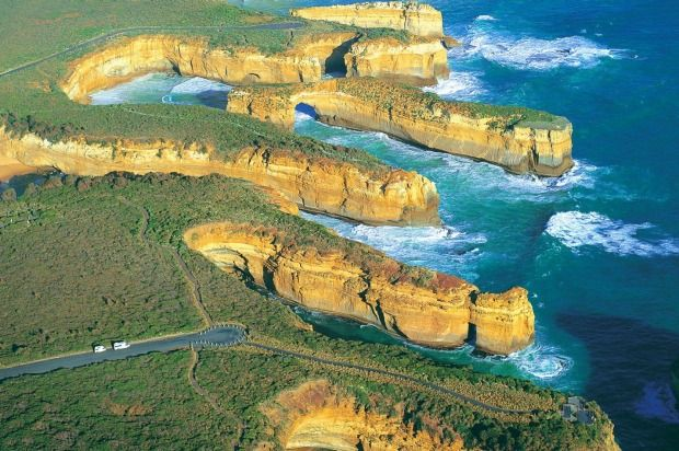 Most famous: Port Campbell National Park, The Great Ocean Road.Photo: Tourism Victoria