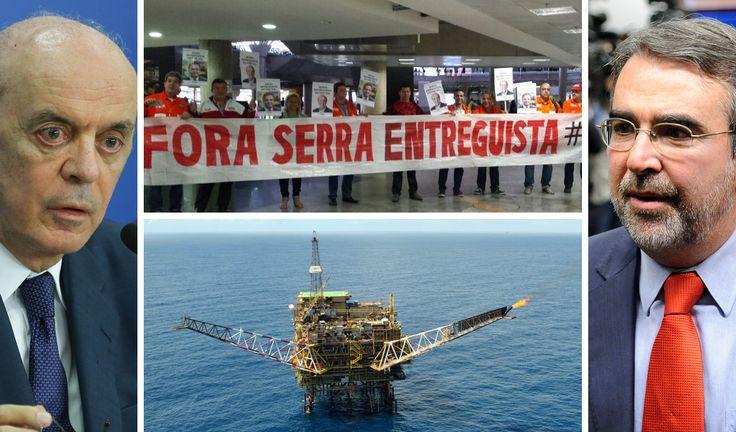 Sob forte resistência de parlamentares da oposição, foi aprovado nesta sexta-feira 7, por 22 votos a 5, o Projeto de Lei 4.567/16, que retira a obrigatoriedade da Petrobras participar da extração de petróleo da camada pré-sal; o colegiado acompanhou o relatório do deputado José Carlos Aleluia (DEM-BA); ainda há cinco destaques supressivos para serem analisados, que pedem a exclusão de trechos do projeto; a proposta, de autoria do senador José Serra (PSDB-SP), é alvo de duras críticas e de…