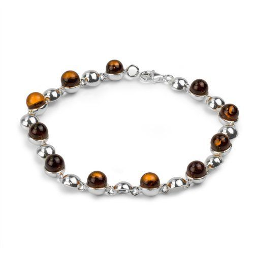 Sterling Silver Amber Ball Bracelet Length 7.5 Inches GRACIANA. $69.98. All amber jewelry designs are from Eastern Europe. Save 23% Off!