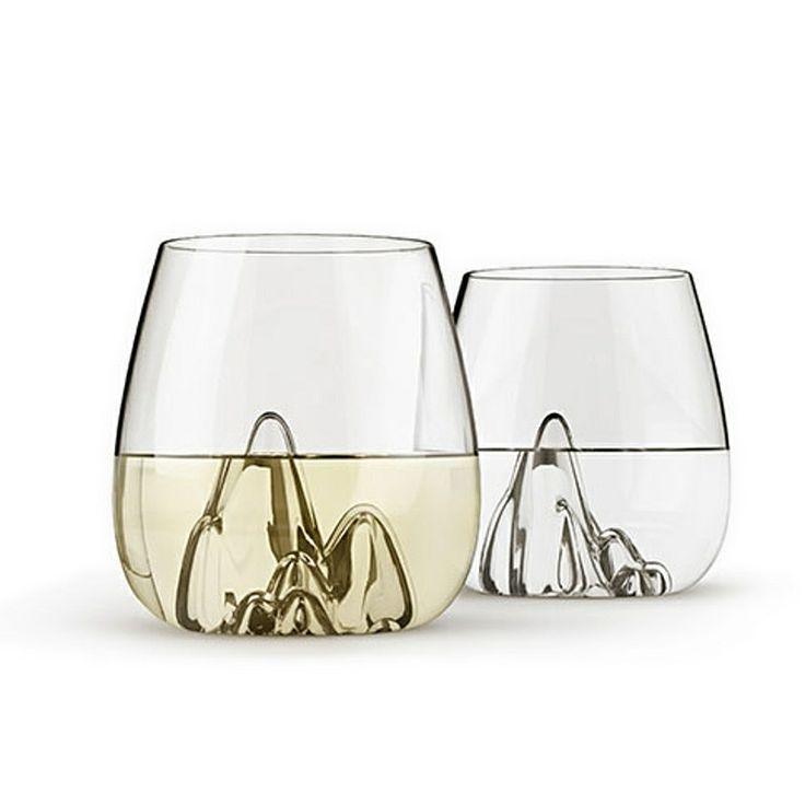 "Wow - these sold out the minute they DID land (don't forget we have a preorder option and an ""email me when available"" option as well - plenty of people took this one up!)   Never fear, more landing later this month.  top3 by design - Gaia & Gino - Aruliden - escape glass tumblers set of 4"