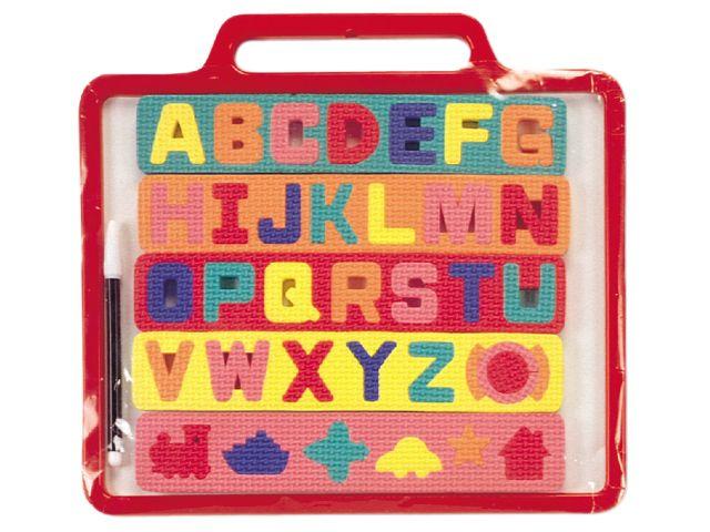 Tablero de aprendizaje de alfabeto. Edad +3  Ref. 8-01248