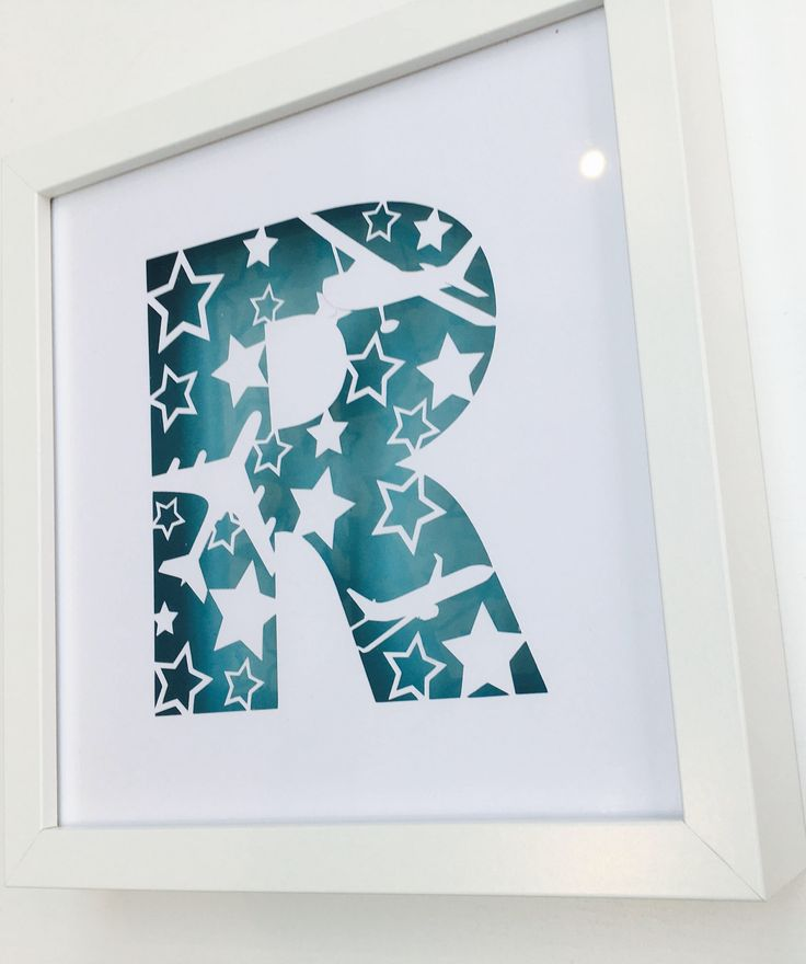 Personalised Paper Cut Letter Frame by RIVADesignsGifts on Etsy https://www.etsy.com/uk/listing/525531522/personalised-paper-cut-letter-frame