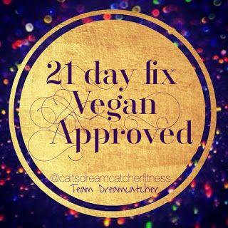 Chasing Cait: 21 Day Fix Vegan Shopping List
