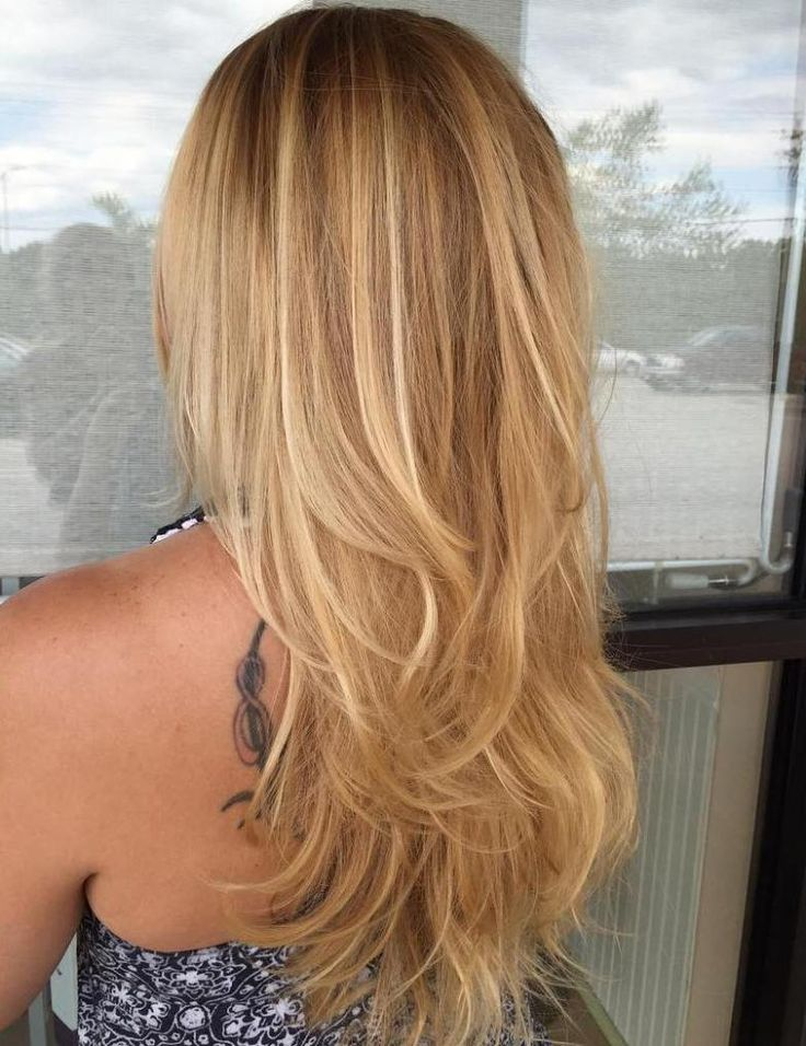 стрижки слоями на тонкие длинные волосы фото огромное