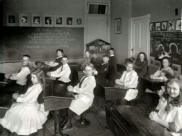School room 1910