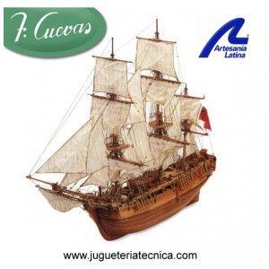 H.M.S. Bounty 1783 Artesanía Latina 22810