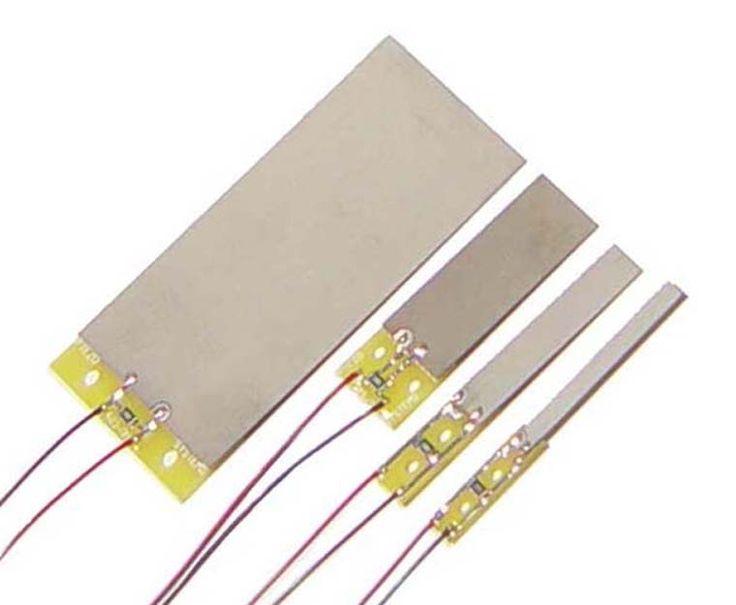 Quick-Mount Piezoelectric Bending Sensors