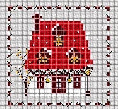 Oltre 25 fantastiche idee su schemi per i colori di casa for Punto croce schemi facili