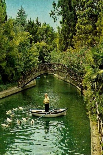 The Rodini Park, Rhodes Island, Greece