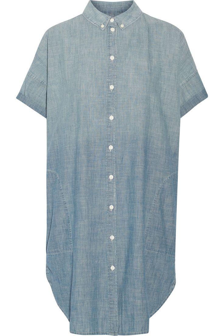 CURRENT/ELLIOTT Denim shirt dress $98.04 http://www.theoutnet.com/products/699545