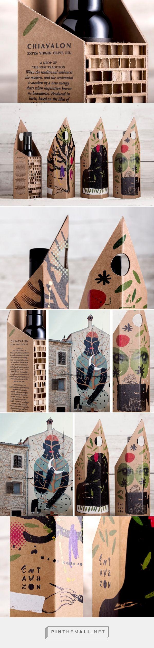 Chiavalon olive oil gift packaging design by Bruketa&Zinic&Grey - https://www.packagingoftheworld.com/2018/03/chiavalon-gift-packaging.html
