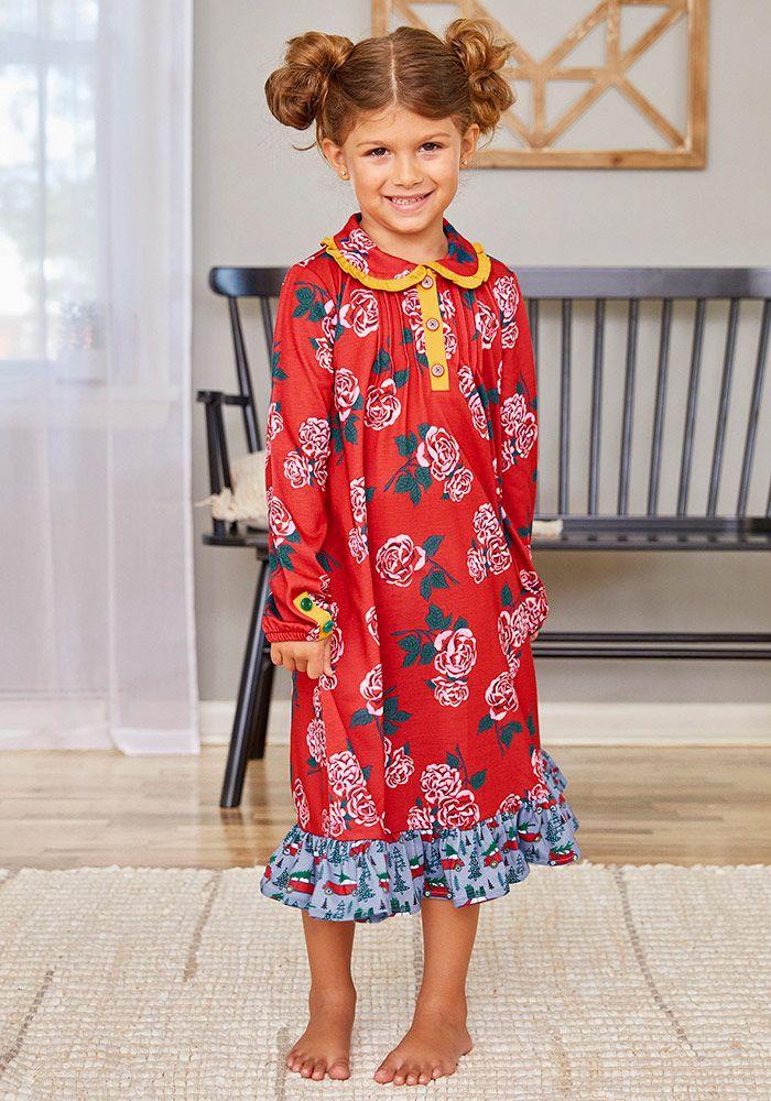 Matilda Jane Cold Winter/'s Night PJ Pajama Set Size 2 4 6 8 10