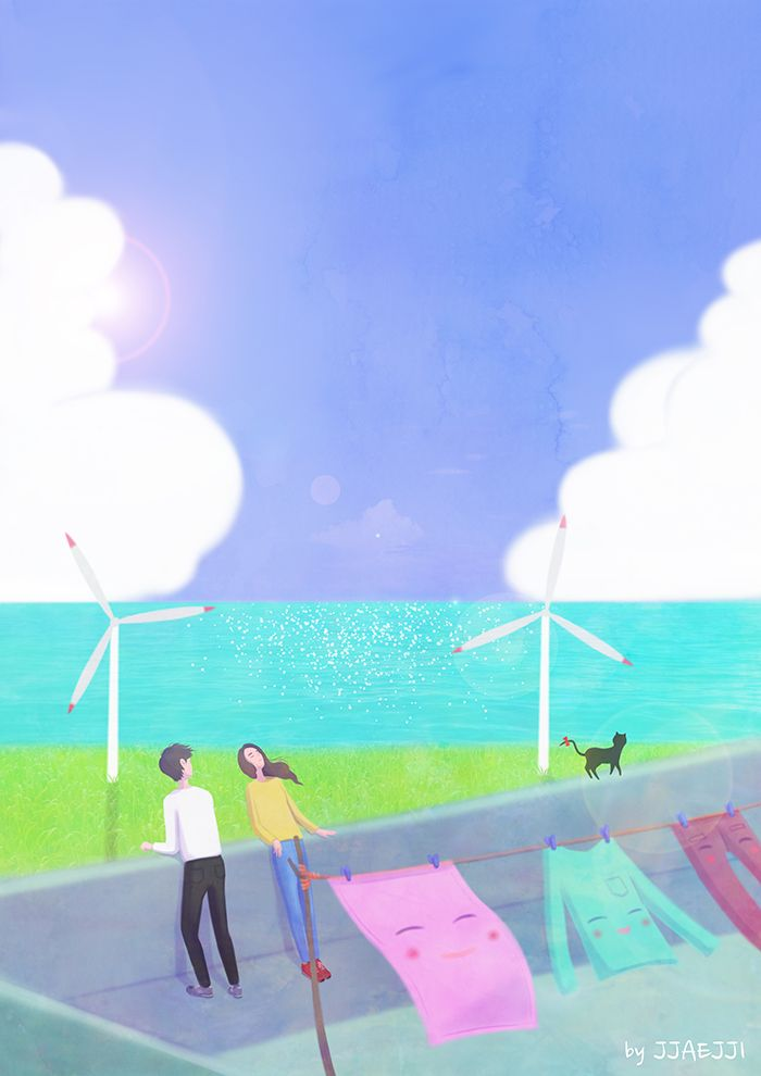 바람 불어 좋은 날(Good windy day)