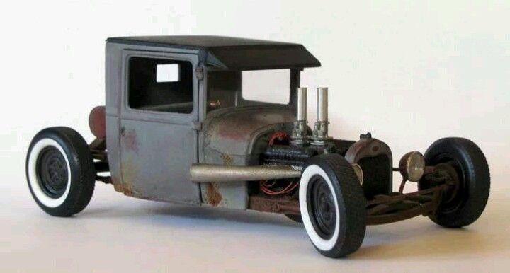 Custom Hot Rod Model Cars.