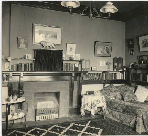 Bryn Mawr College dorm room :: Bryn Mawr College Photo Archives